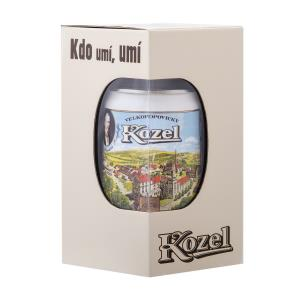 Kozel brewery pitcher