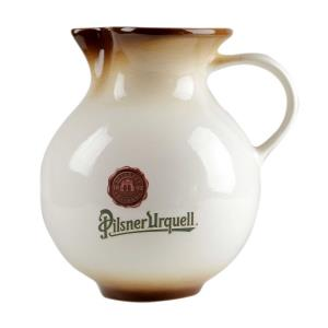 2.5 l beer pitcher with the Pilsner Urquell logo