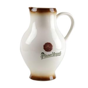 1.5 l beer pitcher with the Pilsner Urquell logo