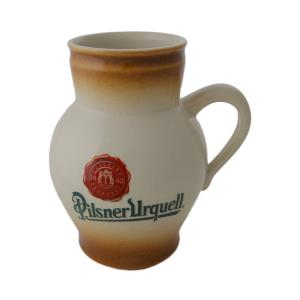 0.5 l beer pitcher with the Pilsner Urquell logo