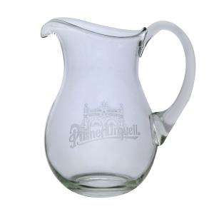 Beer pitcher engraved with the Pilsner Urquell logo - small
