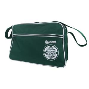 Retro-themed bag with the Pilsner Urquell logo