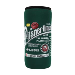 """Pilsner Urquell"" 0.5 l tin cooling cup green colour"