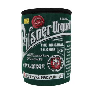"""Pilsner Urquell"" 0.3 l tin cooling cup green colour"