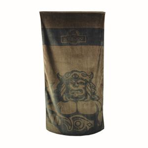 """Radegast"" cotton bath towel brown colour"
