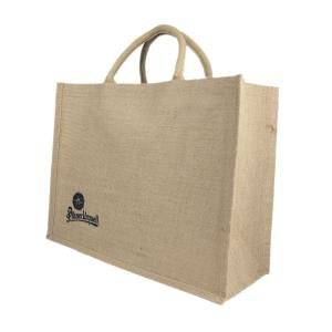 Pilsner Urquell jute bag for gifts