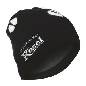 Kozel cap, brown with hoof prints