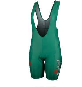 Pilsner Urquell ladies' cycling bib, green