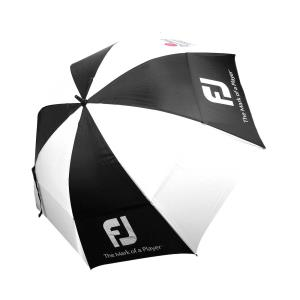 Black - white Golf Umbrella Footjoy