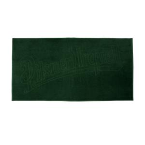 Green Pilsner Urquell big towel