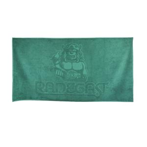 Bath towel Radegast green