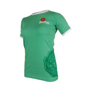 Women´s T shirt Pilsner Urquell green 175 years