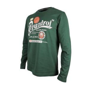 Men's long-sleeved Pilsner Urquell shirt – green