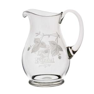 Beer pitcher engraved with the Kozel logo - small