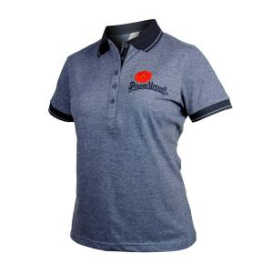 Ladies' Grey Pilsner Urquell Polo Shirt