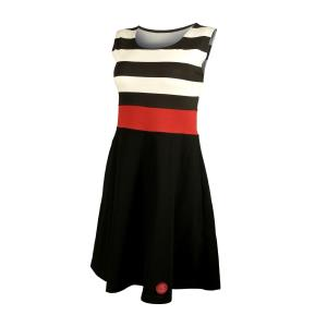 Pilsner Urquell Ladies' Summer Dress with Red Strip