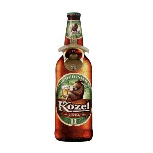 Wall-mounted opener – a bottle of Kozel 11°