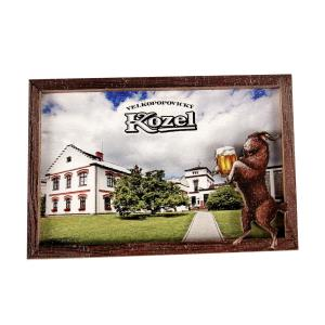Wooden magnet Kozel – White House