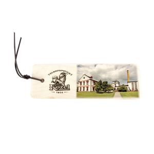 Kozel wooden bookmark - white House