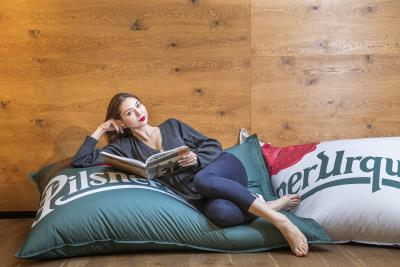 Pilsner Urquell Bean Bag Chair