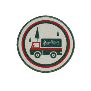 Iron-on patch Pilsner Urquell truck