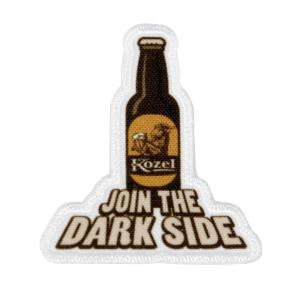 Nažehlovačka Kozel dark side