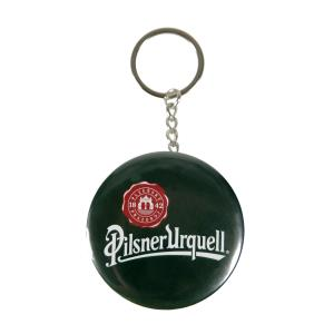 Bottle opener with a fob and Pilsner Urquell seal