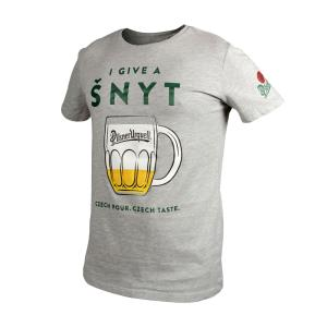 Men´s grey Pilsner Urquell šnyt T-shirt