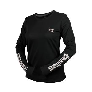 Women´s Long-Sleeved Pilsner Urquell T-Shirt, black