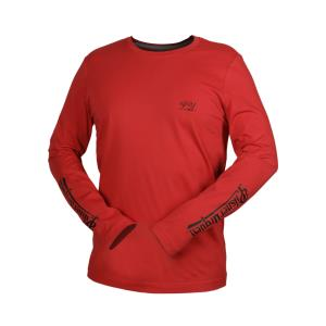 Men´s Long-Sleeved Pilsner Urquell T-Shirt, red