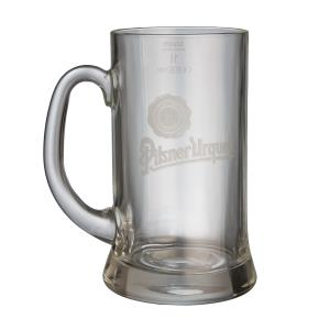 Pilsner Urquell 1l glass with a logo - buy 5 and get one free