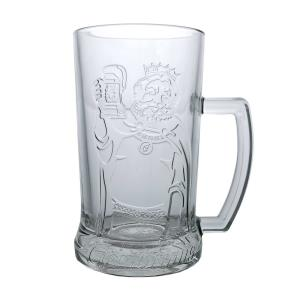 Gambrinus 0.5L glass with handle 5 + 1 for free