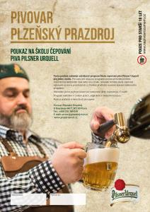 Pilsner Urquell Draft Beer Workshop