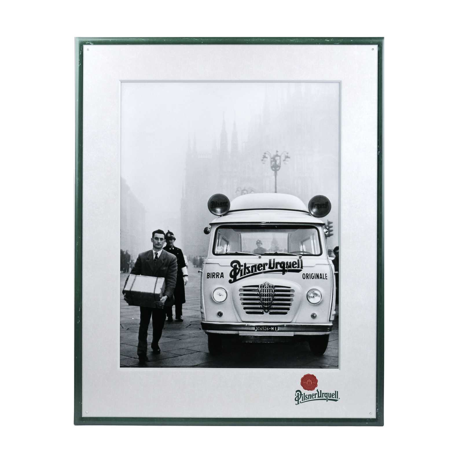 Tin Sign Pilsner Urquell retro delivery