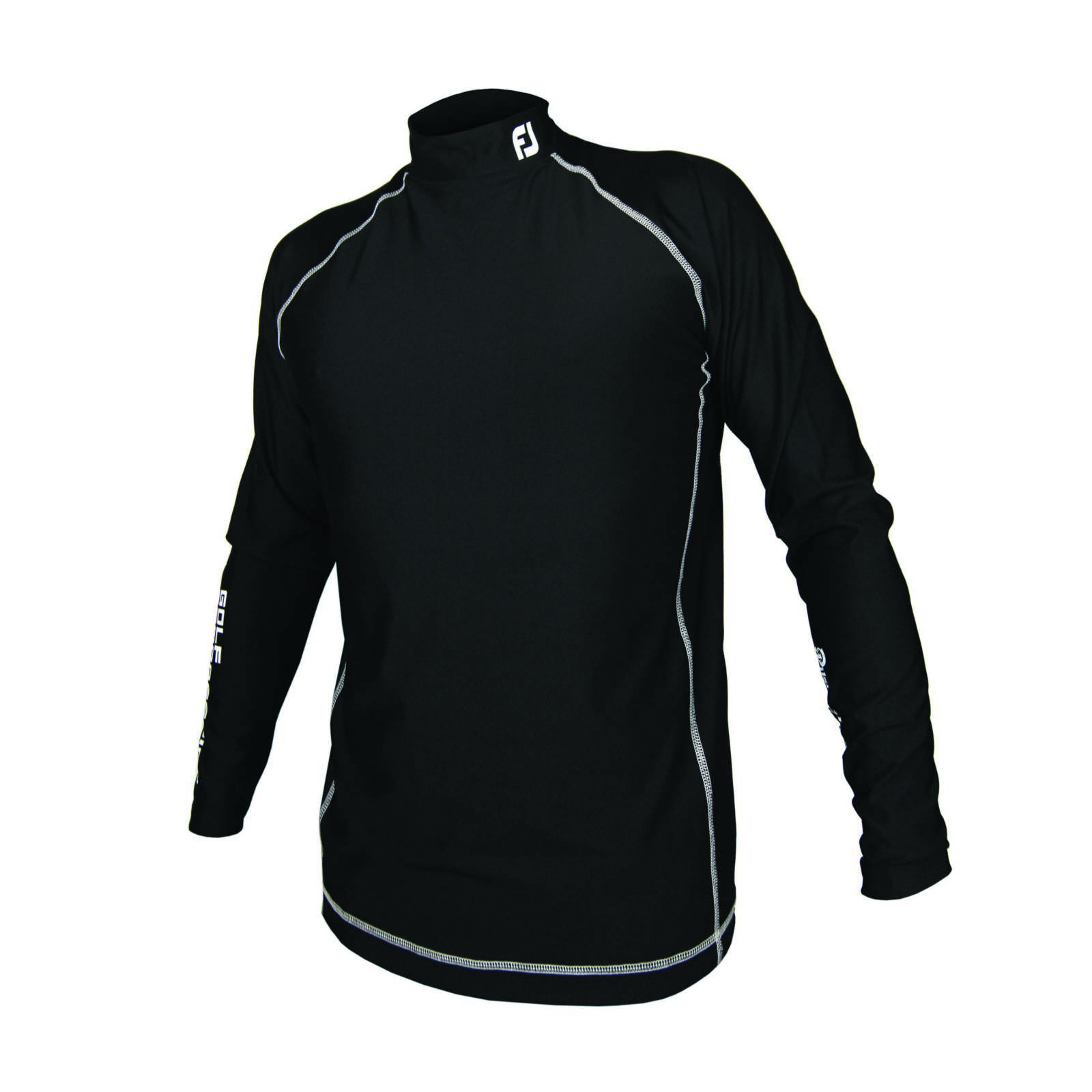 Men's Footjo shirt with long sleeves black