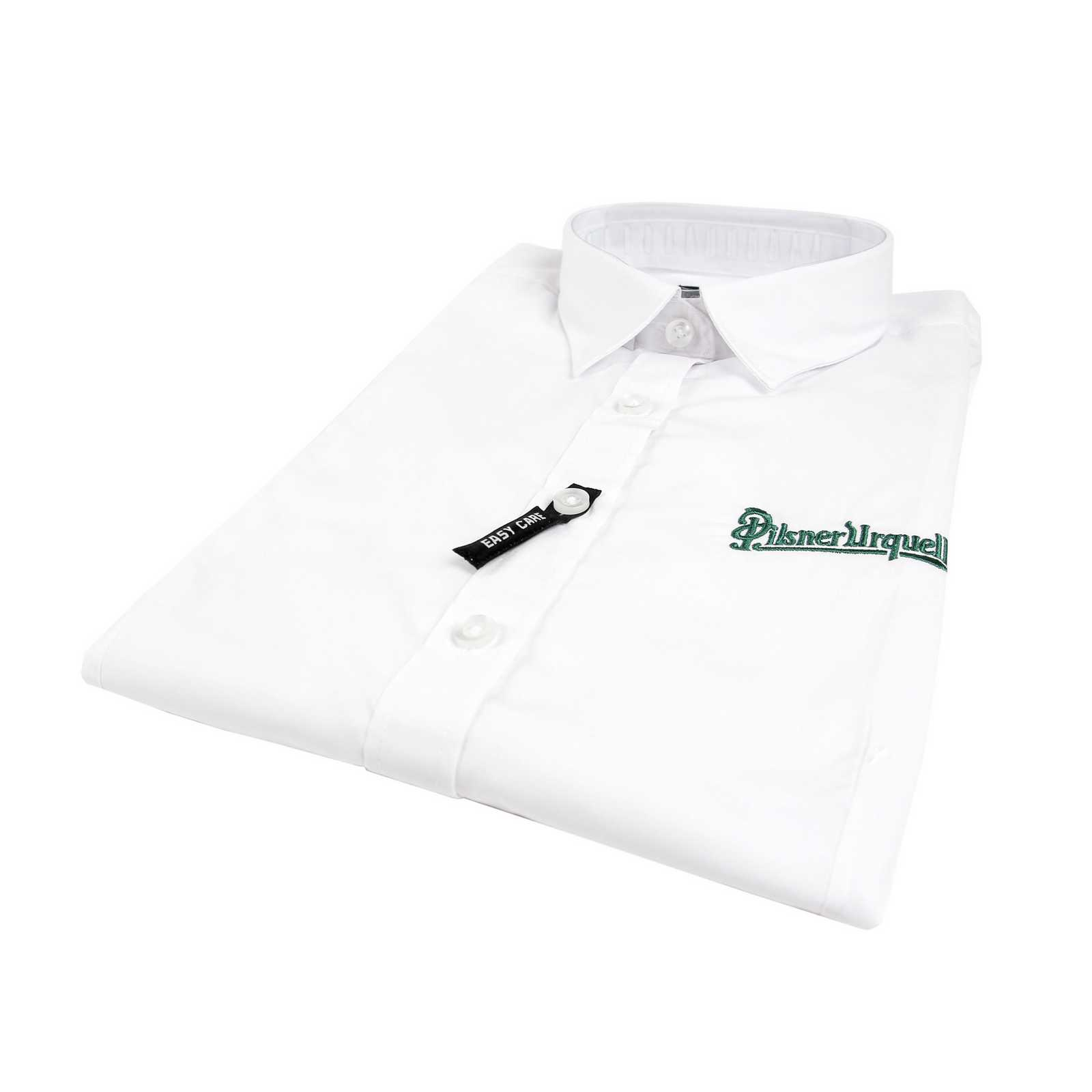 Men's Pilsner Urquell Long-Sleeved Shirt, White