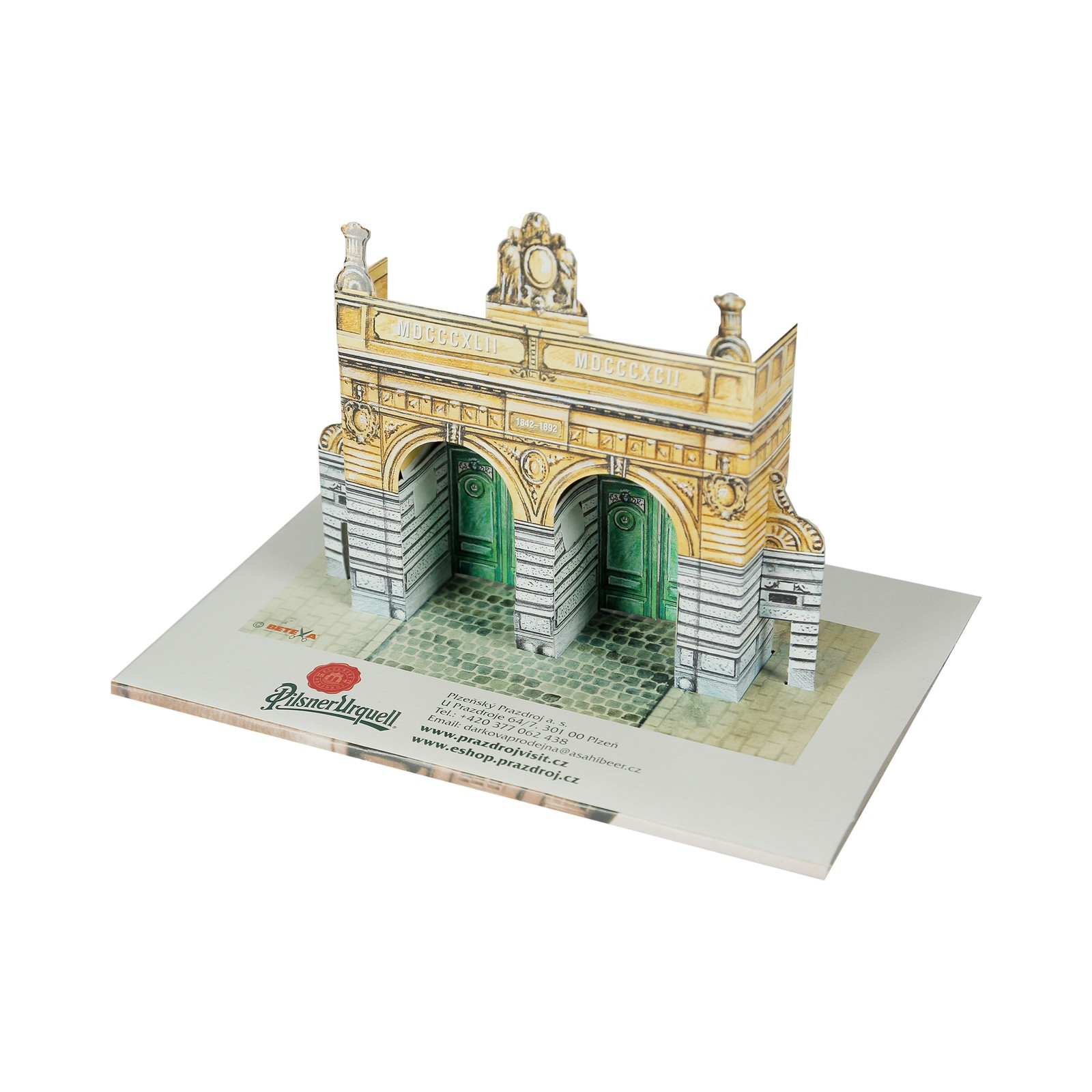 Model of the Pilsner Urquell Gate