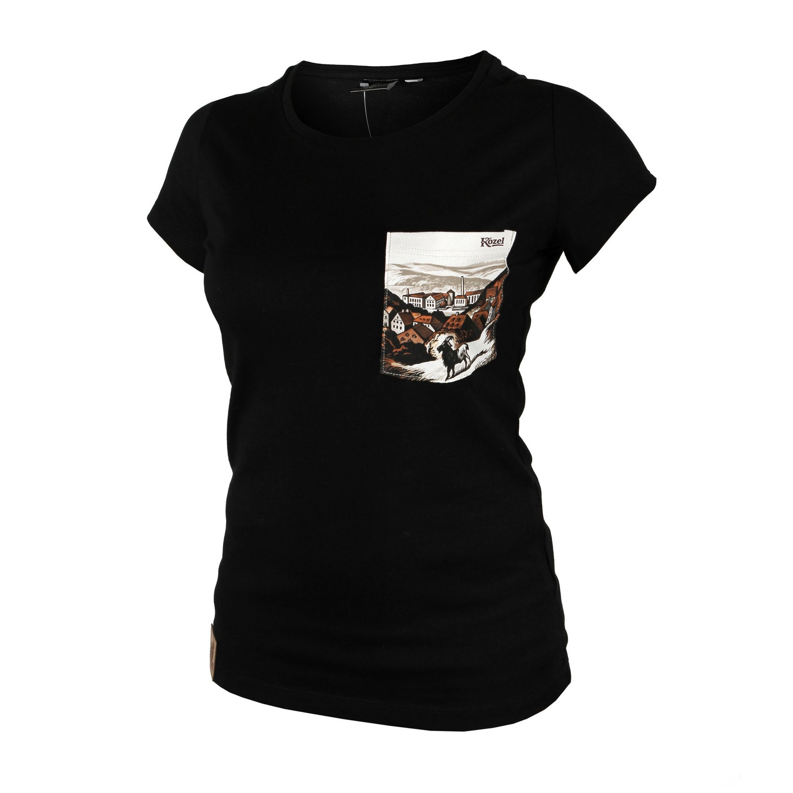 Black Kozel T-Shirt, Ladies'