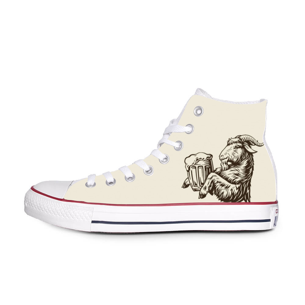 Converse Chuck Taylor All Star with logo Kozel beige