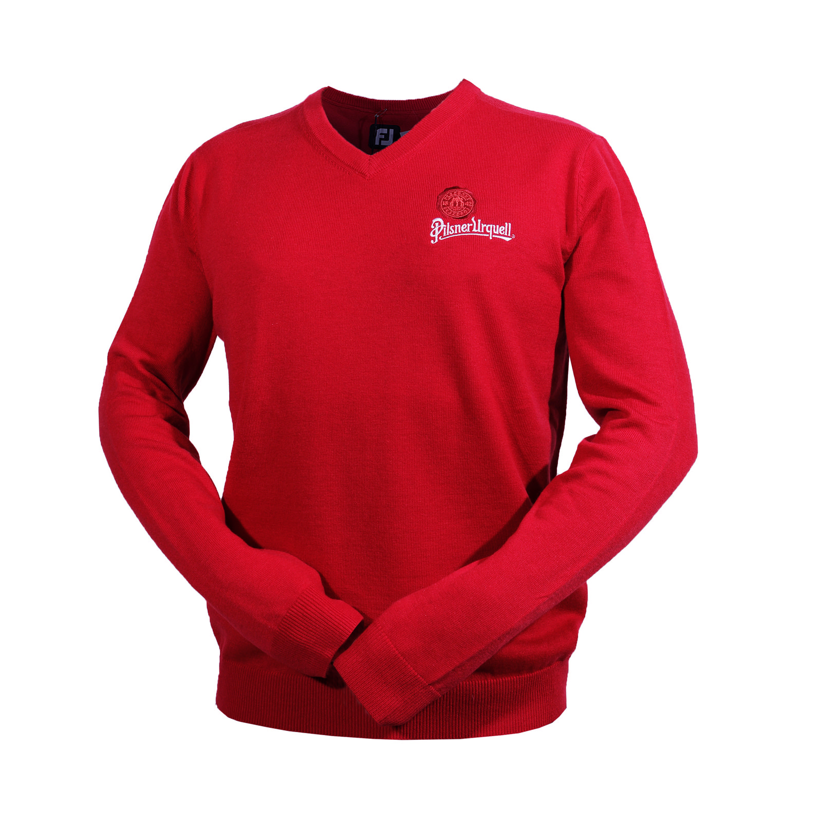 Men's sweater Footjoy red