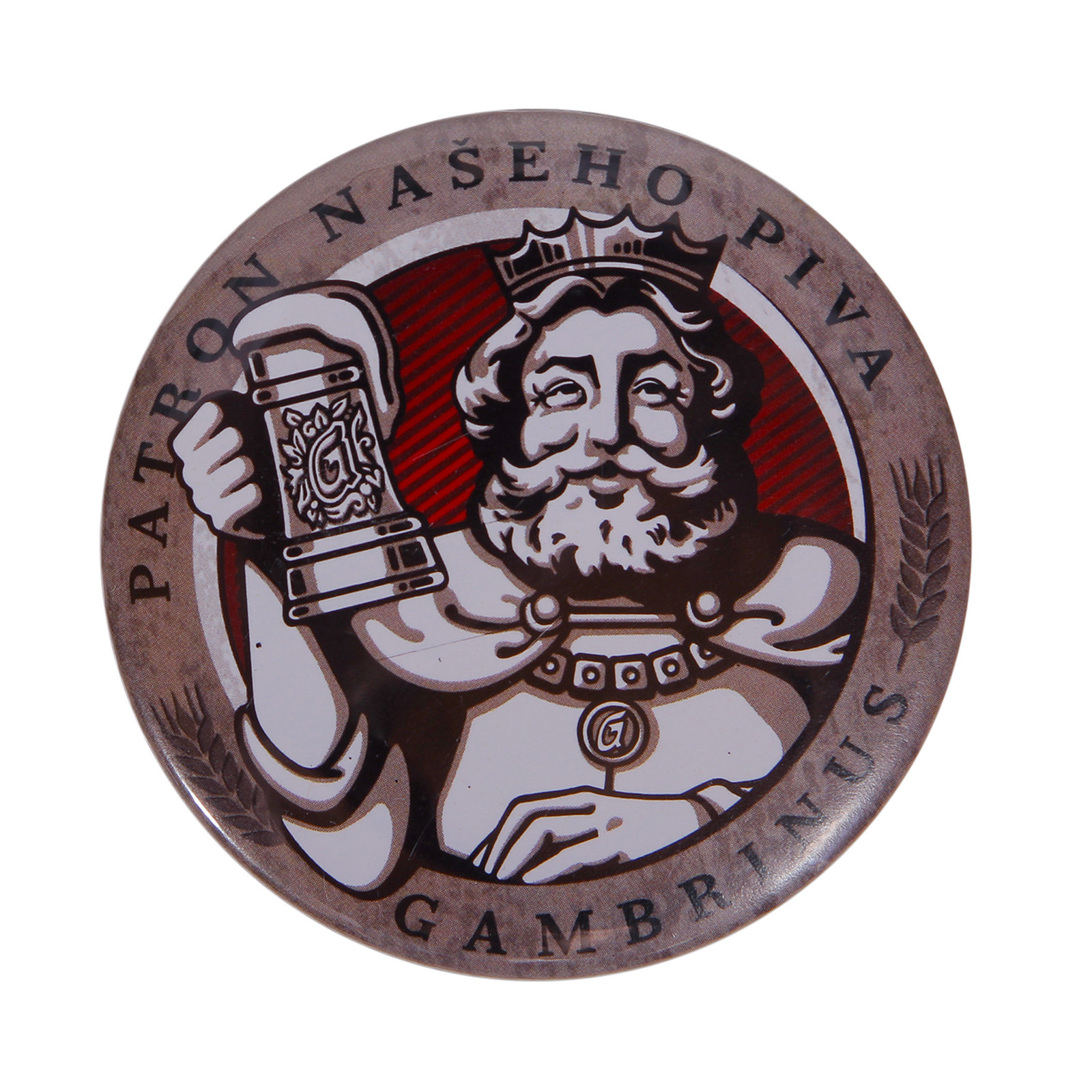 Gambrinus Bottle Opener With Magnet