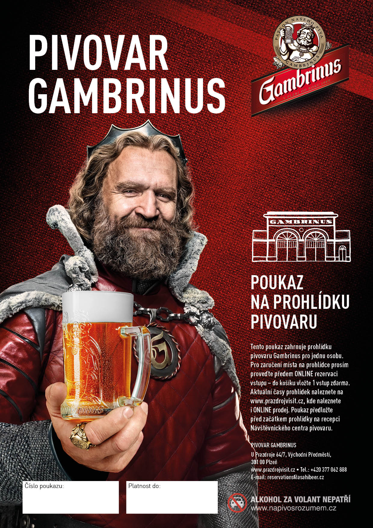 Gambrinus Brewery Tour - in Czech